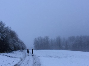 Winter talk © Karen Ramseier