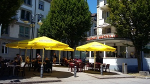 Marcello's is on the edge of the charming Quartier d'Alt