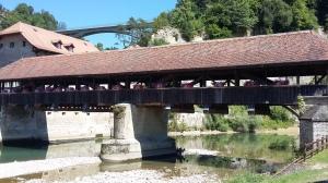 Pont de Berne, close to the Bern gate and city walls